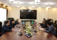 Встреча Вице-министра с Послом Королевства Саудовской Аравией